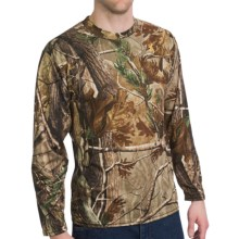 Browning Wasatch Vapor Max T-Shirt - Long Sleeve (For Men) in Realtree Ap - Closeouts