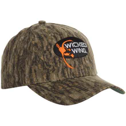 Browning Wicked Wing Baseball Cap (For Men) in Mossy Oak Bottomland - Closeouts
