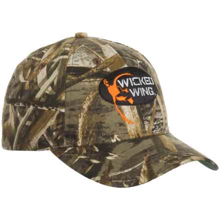 Browning Wicked Wing Baseball Cap (For Men) in Realtree Max 5 - Closeouts