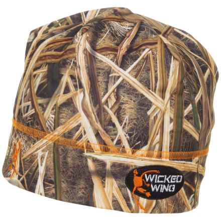 Browning Wicked Wing Beanie (For Men) in Mossy Oak Shadow Grass Blades - Closeouts