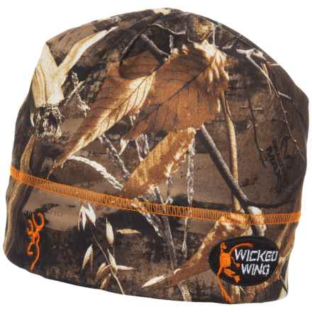 Browning Wicked Wing Beanie (For Men) in Realtree Max 5 - Closeouts