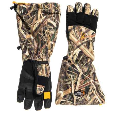 Browning Wicked Wing Decoy PrimaLoft® Gloves - Waterproof, Insulated (For Men) in Mossy Oak Shadow Grass Blades - Closeouts