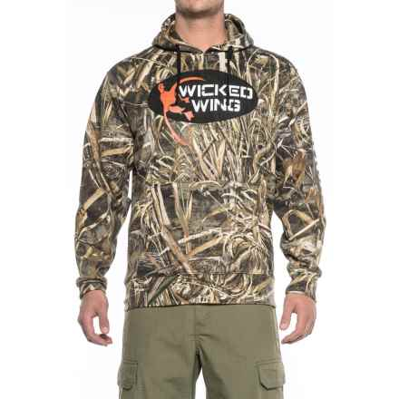 Browning Wicked Wing Hoodie (For Men) in Realtree Max 5 - Closeouts