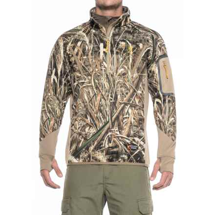 Browning Wicked Wing Smoothbore Jacket - Zip Neck (For Men) in Realtree Max 5 - Closeouts