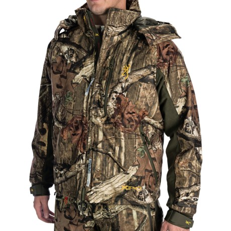 Browning XPO Jacket - Waterproof, Insulated (For Big Men) in Mossy Oak Infinity