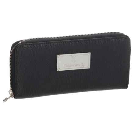 Browning Zip Around Wallet (For Women) in Black - Closeouts