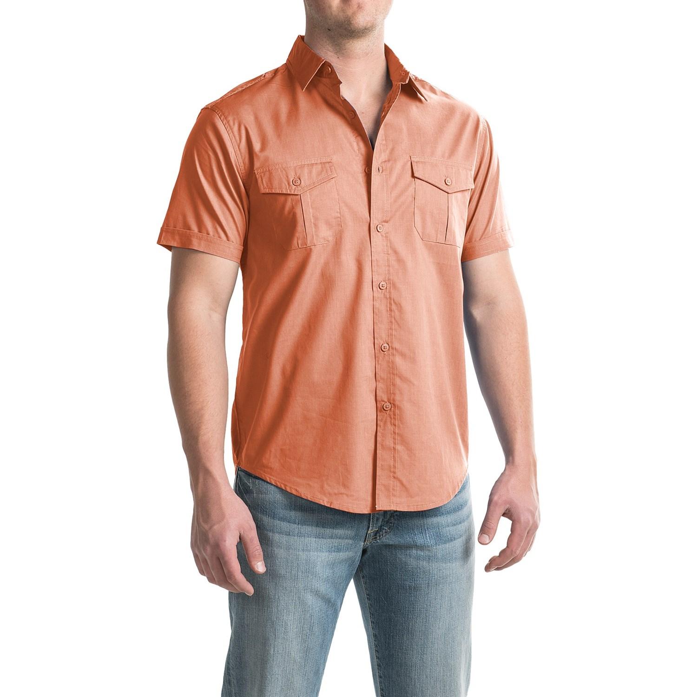 Bruno button down pilot shirt for men save 85 for Button down shirts for short men