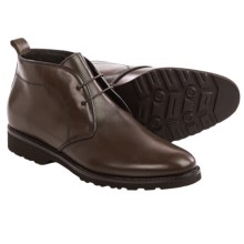 Bruno Magli Wender Leather Chukka Boots (For Men) in Dark Brown - Closeouts