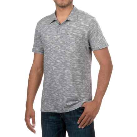 Bruno Pocket Polo Shirt - Short Sleeve (For Men) in Empire Blue - Closeouts
