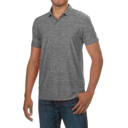 Bruno Polo Shirt - Short Sleeve (For Men) in Pewter - Closeouts