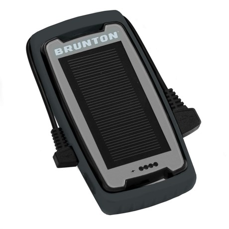Brunton Freedom Solar Charger - Portable in Black