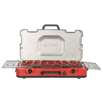 Brunton Primus Firehole 200 Stove - Two Burner in Red - Closeouts