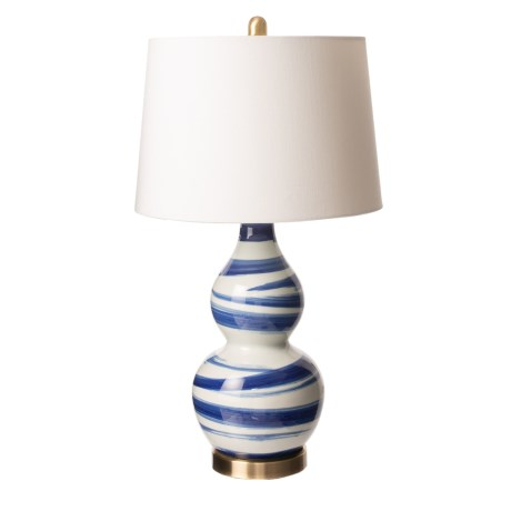 Image of Brush Porcelain Lamp