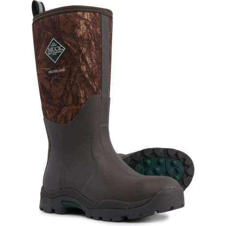 Brushland Hunting Boots - Waterproof, Insulated (For Women) - CAMO (6 ) thumbnail