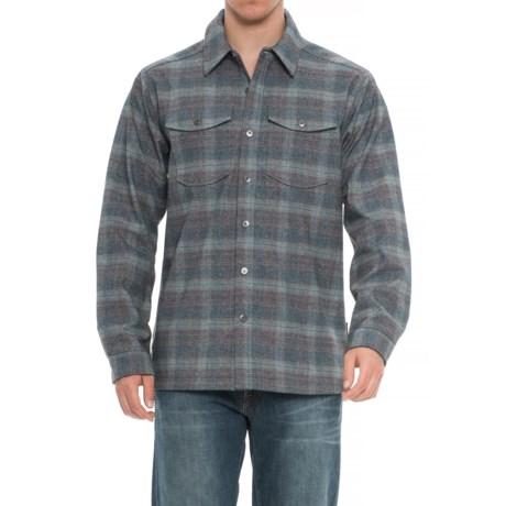 Image of Bruxburn Plaid Shirt - Long Sleeve (For Men)
