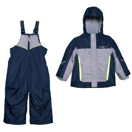 Image of Bryce Jacket and Snow Bibs Set - Insulated (For Toddler Boys)