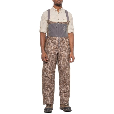 BTU-WD Bib Pants - Waterproof, Insulated (For Men) - MOSSY OAK BOTTOM LAND (M ) thumbnail