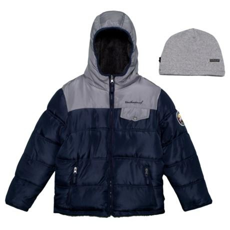 Image of Bubble Reversible Fleece Jacket - Insulated (For Big Boys)