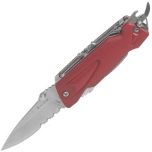 Buck Knives X-Tract Multi-Tool - Partially Serrated Blade in Red - Closeouts