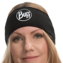 Buff Headband Pro Windstopper® Buff (For Men and Women) in Grey Logo - Closeouts
