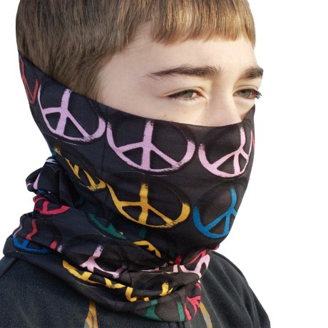 Buff Junior Buff Headwear - Seamless (For Boys and Girls) in Give Peace