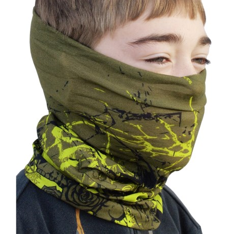 Buff Junior Buff Headwear - Seamless (For Boys and Girls) in Masque
