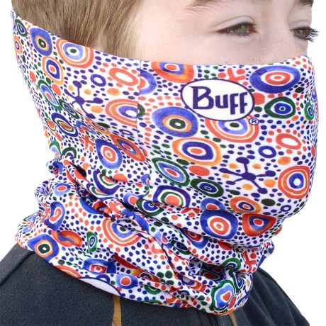 Buff Junior Buff Headwear - Seamless (For Boys and Girls) in Murano White
