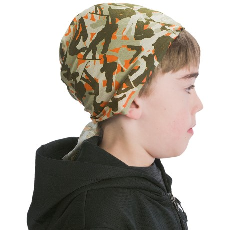 Buff Junior Buff Headwear - Seamless (For Boys and Girls) in New Snow
