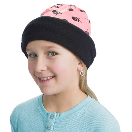 Buff Junior Polar Buff Neck Gaiter - Polartec® Fleece (For Boys and Girls) in Angy / Black