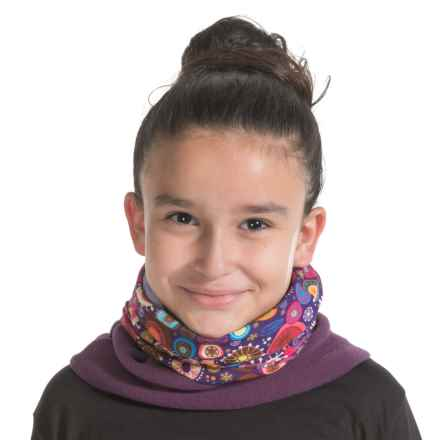 Buff Junior Polar Buff Neck Gaiter - Polartec® Fleece (For Little and Big Kids) in Snow Flake - Closeouts