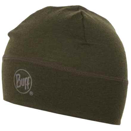 Buff Merino Wool Beanie (For Men and Women) in Cedar - Closeouts