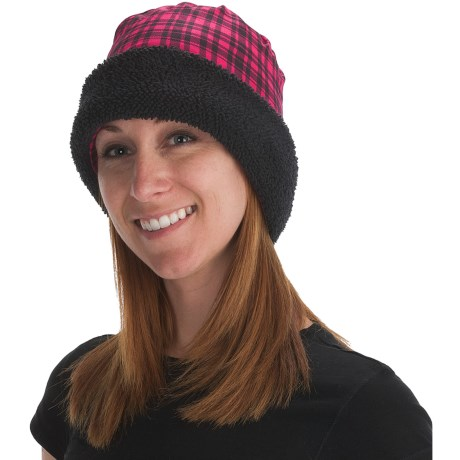 Buff Polar Buff Convertible Headgear - Polartec® Thermal Pro® Fleece (For Men and Women) in Brodie Fucsia/Black