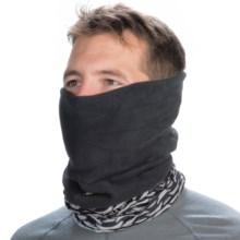 Buff Polar Buff Headwear - Polartec Fleece (For Men and Women) in Steel W/ Black Fleece - Closeouts