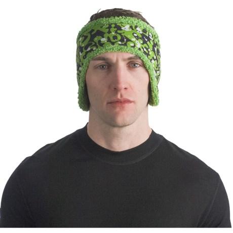 Buff Polar Buff Reversible Headband - Polartec® Fleece (For Men and Women) in Skisnow/Meadowgrass
