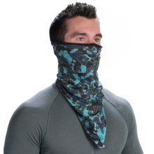 Buff Polar Fleece Bandana Buff (For Men and Women) in Urban Camo/Black Fleece - Closeouts
