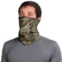 Buff UV Buff Bug Slinger Fishing Neck Gaiter (For Men and Women) in Bs May Fly Army - Closeouts