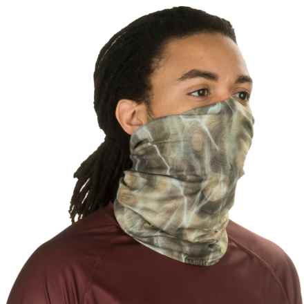 Buff UV Buff Bug Slinger Fishing Neck Gaiter (For Men and Women) in Bs Water Camo Forest - Closeouts