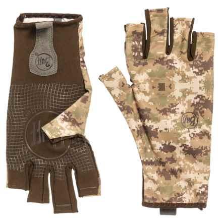 Buff Water 2 Gloves - UPF 50+ (For Men) in Pixels Desert - Closeouts