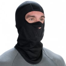 Buff Windproof Fleece Balaclava - Windstopper® (For Men and Women) in Black - Closeouts