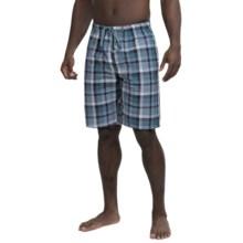 Buffalo by David Bitton Slub Madras Jam Shorts (For Men) in Mirage Plaid - Closeouts