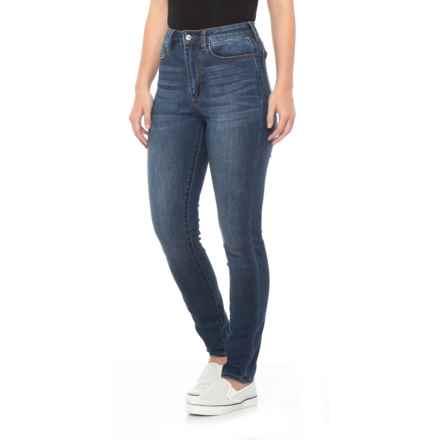 Buffalo Dark Night High Hope Skinny Jeans - Curvy Fit (For Women) in Dark Night - Closeouts
