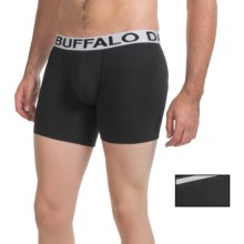 Buffalo David Bitton Cotton Stretch Boxer Briefs - 2-Pack (For Men) in Black - Closeouts