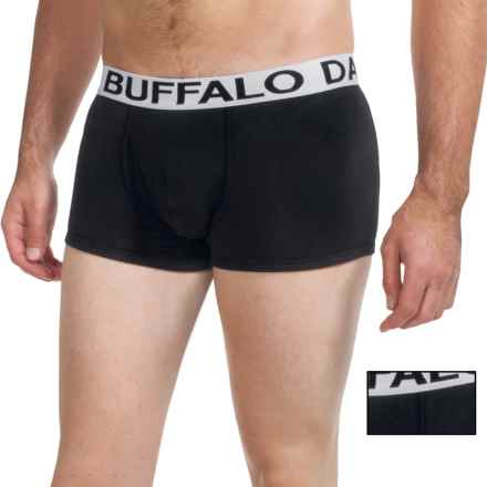 Buffalo David Bitton Cotton Stretch Trunks - 2-Pack (For Men) in Black - Closeouts