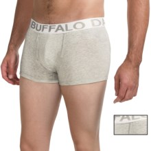 Buffalo David Bitton Cotton Stretch Trunks - 2-Pack (For Men) in Heather Grey - Closeouts