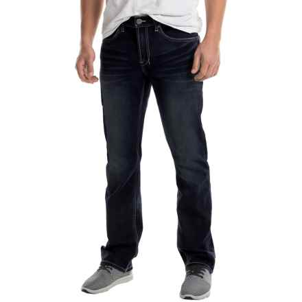 Buffalo David Bitton Driven-X Basic Straight-Cut Jeans (For Men) in Worked Rinse - Closeouts