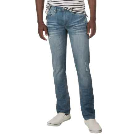 Buffalo David Bitton Evan-X Basic Jeans - Slim Fit (For Men) in Light Medium - Closeouts
