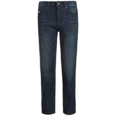 Buffalo David Bitton Evan-X Jeans - Slim Stretch (For Big Boys) in Dark Sandy Wash - Closeouts