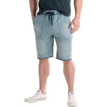 Buffalo David Bitton Fisley Knit Shorts (For Men) in Indigo - Closeouts