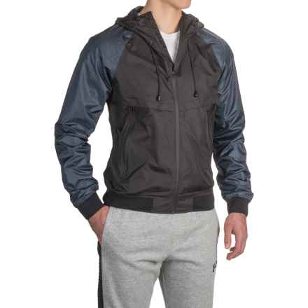Buffalo David Bitton Jesse Windbreaker (For Men) in Indigo - Closeouts
