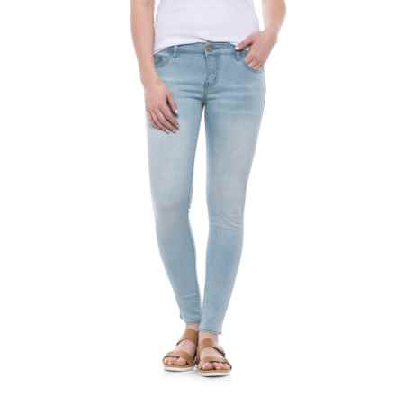 Buffalo David Bitton Jilian Super Skinny Jeans - Low Rise (For Women) in Heavy Bleach - Closeouts